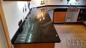 Arbeitsplatten Aus Granit : bonn krishna black granit arbeitsplatten ~ Michelbontemps.com Haus und Dekorationen