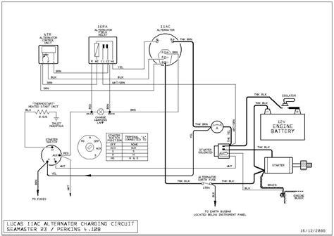 lucas a127 alternator wiring diagram impression newomatic