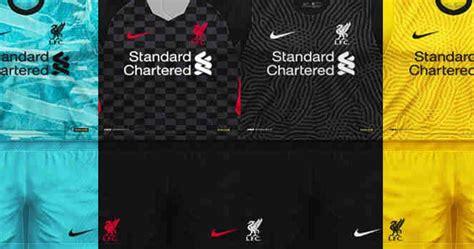 ultigamerz: PES 6 Liverpool 2020-21 Full GDB Kits