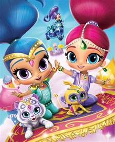 Cake Decoration Ideas With Gems by Nelc3 Shimmer And Shine Nick Jr S Magical New Show