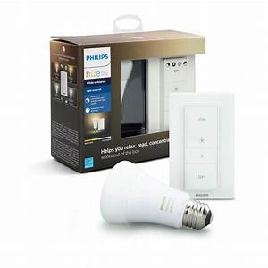 Philips Hue White Ambiance : philips hue white ambiance dimming smart kit 466706 the home depot ~ Orissabook.com Haus und Dekorationen