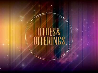 Offering Tithes Church Slides Offerings Slide Prayer