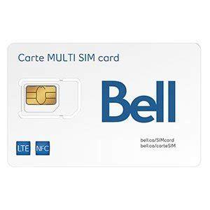 Carte Sim Europe Canada by Bell Canada Multi Sim Card Cell Phones