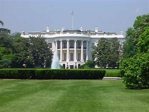 Scenic view of the White House, Washington DC America ...