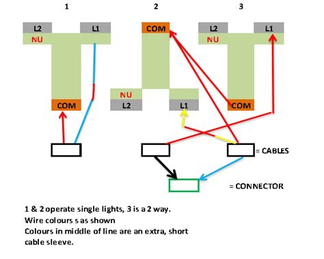 wiring 3 2 way light switch diynot forums