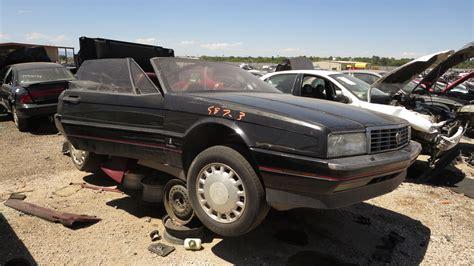 cadillac allante junkyard find