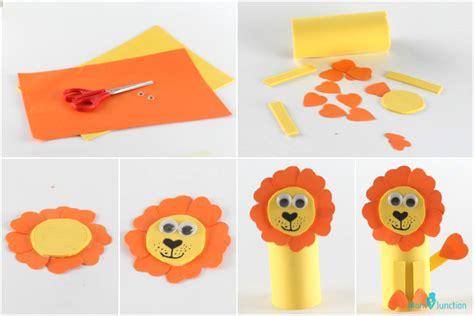 animal crafts for kindergarten crafting 406 | Lion crafts