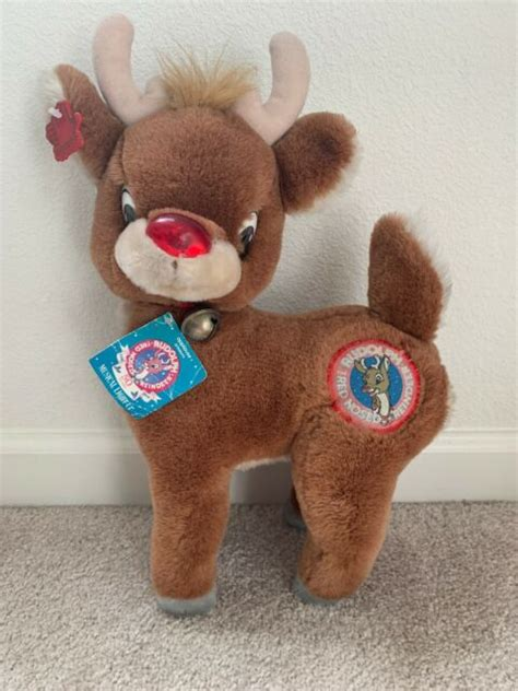 Coming to a city near you this holiday season. Rudolph The Red Nosed Reindeer Musical Light Up | eBay