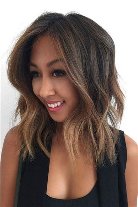 hair color  olive skin  cool hair color ideas