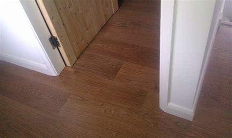 laminate flooring doorway door skirting boards