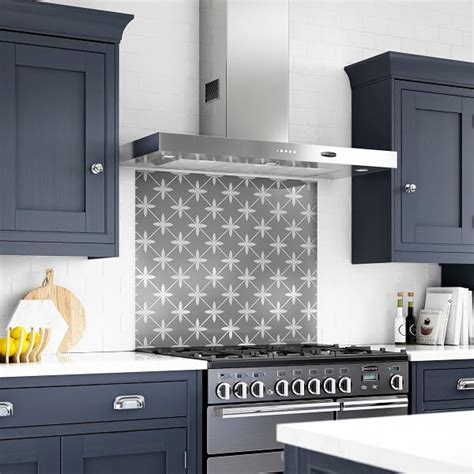 Laura Ashley Wicker Charcoal Splashback   Splashback