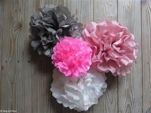 Fleur En Papier De Soie : comment fabriquer une fleur en papier joli place ~ Nature-et-papiers.com Idées de Décoration
