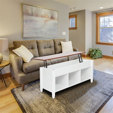 Buy coffee tables with storage and get the best deals at the lowest prices on ebay! Lowestbest Lift Top Coffee Table, Solid Wood Coffee Table ...