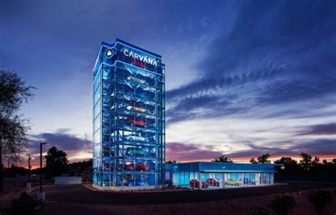 Carvana  Opens The Country's Largest Car Vending Machine