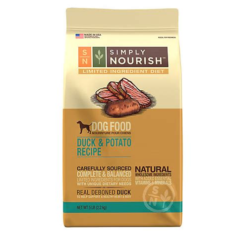 simply nourish limited ingredient diet dog food natural