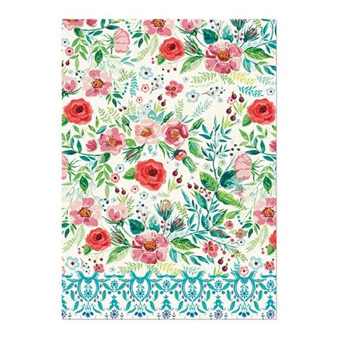michel design works kitchen towel michel design works kitchen towel berry blossom 9159