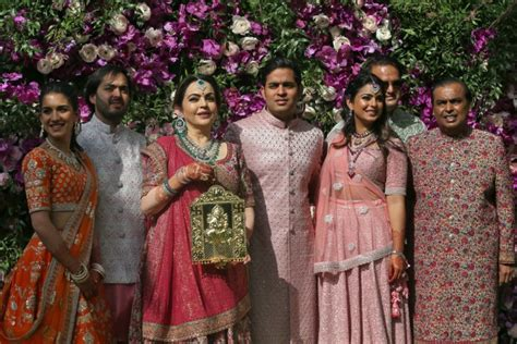 Global Celebrities Gather For The Wedding Of Indias