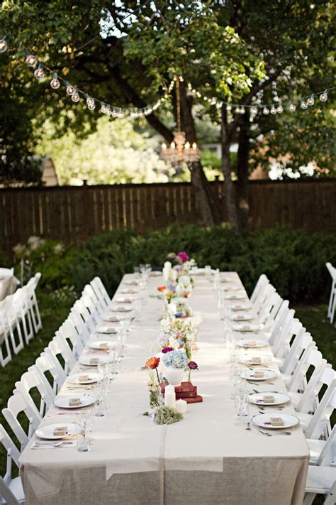 backyard wedding setup outdoor furniture design  ideas