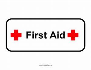 First Aid Printable Sign, free to download and print ...