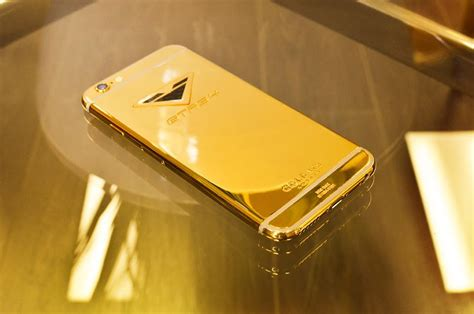 custom iphone american tuner vorsteiner goes 50 shades of gold with