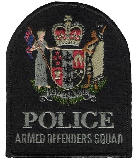 Armed Offenders Squad And Special Tactics Group New