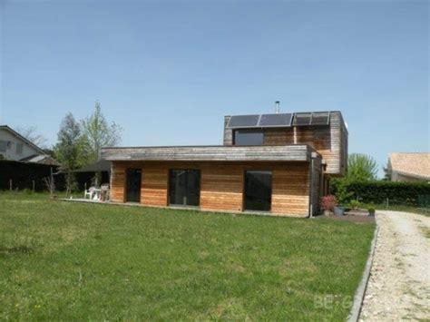 maison 233 cologique passive en bois 224 vendre 33850 l 233 ognan