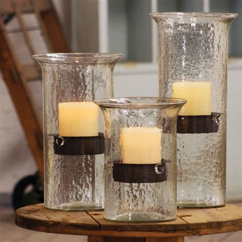 large candle holders hurricane candle holders large home lighting design ideas