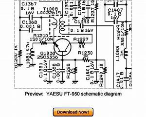 Vertex Yaesu Ft-950 Service Repair Manual Download