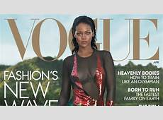 Rihanna Lands Another 'Vogue' Cover in Tom Ford Fashionista