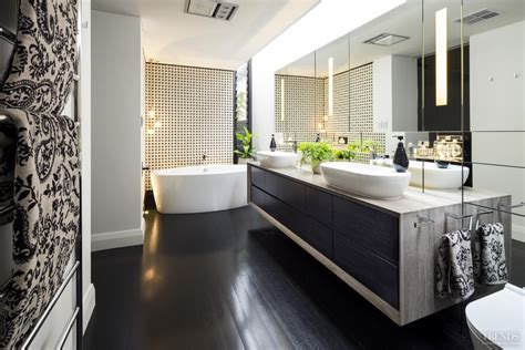 Design Bathrooms by Luxury Bathroom Addition With Japanese Wall Tiles And