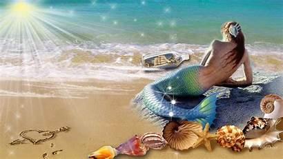 Mermaid Wallpapers 1080p Beach Background Tsunami Caught