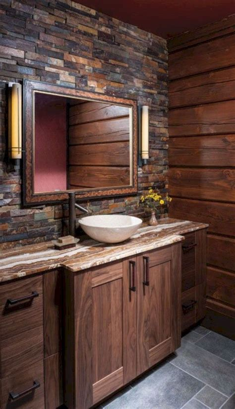 awesome rustic bathroom ideas  upgrade  house