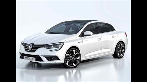 New 20182019 Renault Megane Sedan Youtube