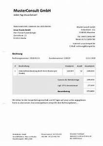Rechnung Musiker : rechnung f r beratung schreiben kostenlose vorlage ~ Themetempest.com Abrechnung