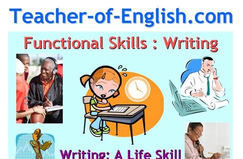 English Teaching Resources  Plans, Powerpoints And Worksheets New English Functional Skills