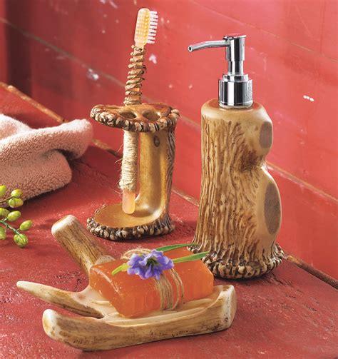 Camo Bathroom Decor: Antler Bath Accessories|Camo Trading