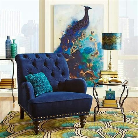 Painting And Chair, Everything Else Is Too Much Peacock