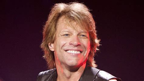 Great Hair Gorgeous Manners Jon Bon Jovi Gives Rock