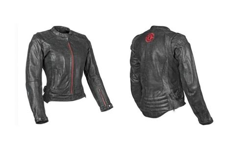 Womens Armored Leather Motorcycle Jackets