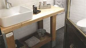 Relooker Meuble Salle De Bain : peinture meuble relooker son mobilier avec de la couleur c t maison ~ Melissatoandfro.com Idées de Décoration