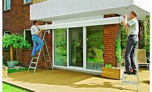 markise selbstde With markise balkon mit bild auf tapete drucken