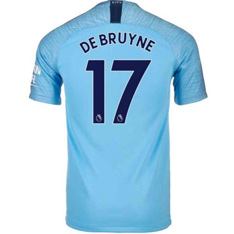 2018/19 Kids Nike Kevin De Bruyne Manchester City Home ...