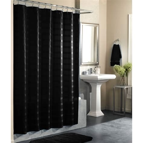 black shower curtain ideas desain rumah minimalis