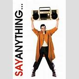 Say Anything Movie Poster | 170 x 255 jpeg 8kB