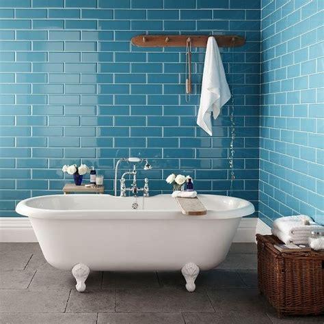 Teal Bathroom Tile Ideas by Blue Tile The House That A M Built