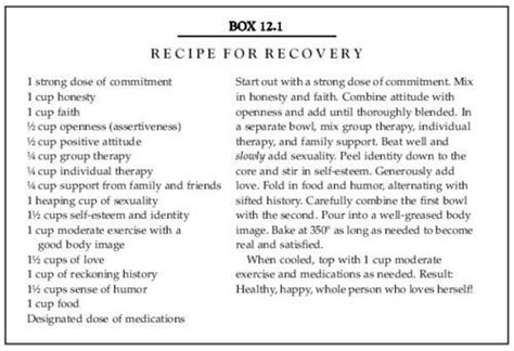 Substance Abuse Recovery Worksheets