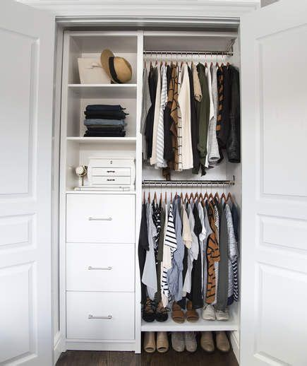 Closet Organization Ideas For Small Spaces by Smart Organizing Tricks For A Clutter Free Closet Jo