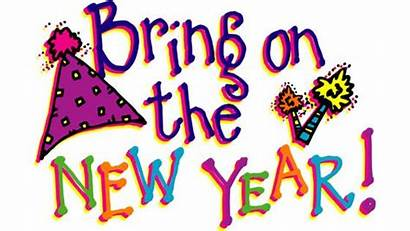 Clipart Happy Years Eve Ringing