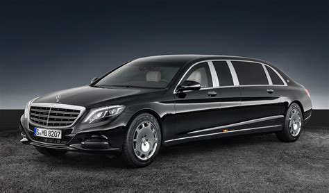 maybach car mercedes benz revealed 2017 mercedes maybach s 600 pullman guard