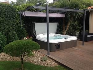 deco spa exterieur elegant prix spa exterieur petit With beautiful maison terrain en pente 13 amenagement exterieur les jardins du rempart